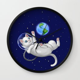 Are You there World? Its Me, Kitteh... Wall Clock