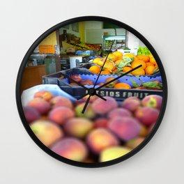 Fresh Fruit Wall Clock