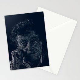 Kurt Vonnegut Typographic Print Stationery Cards