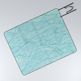 Waves Picnic Blanket