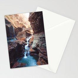 Waterfall at Watkins Glen Stationery Cards
