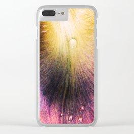 Petal Drops #2 Clear iPhone Case