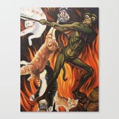 Hell O'Kitty Canvas Print