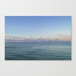 Pacific Hawaiian Sunrise Canvas Print