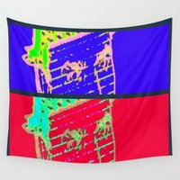 gangster Wall Tapestries featuring Hot N Cold Gangster by James Eye