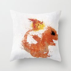 #004 Throw Pillow