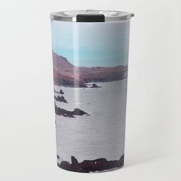 Iceland beach Travel Mug