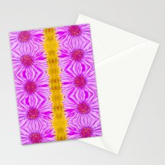 Purple Aster Flowers Stationery Cards