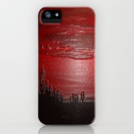 Lacquer Sunset iPhone Case