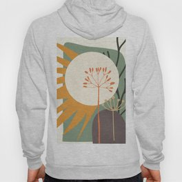Abstract Plant 03 Hoody