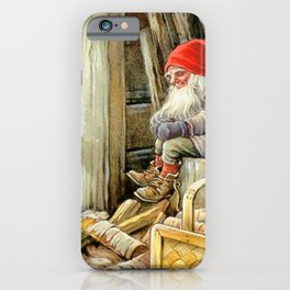 """""""In the Woodshed"""" by Jenny Nystrom iPhone Case"""