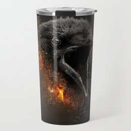 XTINCT x Raven Travel Mug