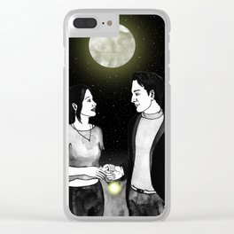 Lounge story Clear iPhone Case