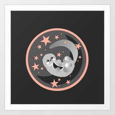 Space's Otter Art Print