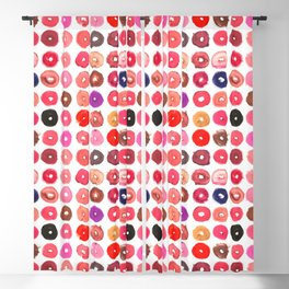 Lipstick Donuts Blackout Curtain