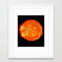 apollo Framed Art Prints featuring Apollo by mkpowellart