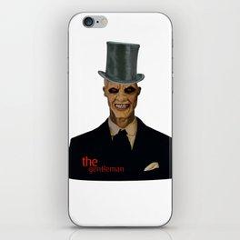 The gentlemen iPhone Skin