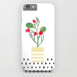 Potted Plant 2 iPhone Case