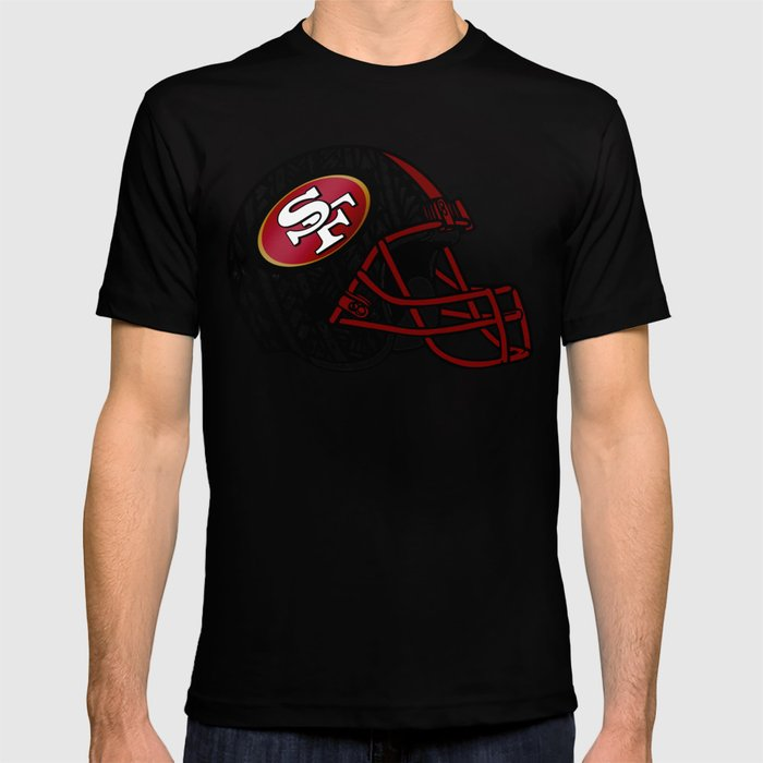 3ffe7b02e Tribal Style 49ers T-shirt by lonicaphotography polydesigns