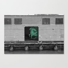 Unseen Monsters of San Francisco - Frankso Tonkfancy Canvas Print