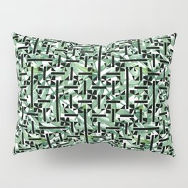 shapes and leaves Pillow Sham