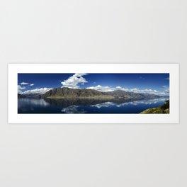 New Zealand Panorama Art Print