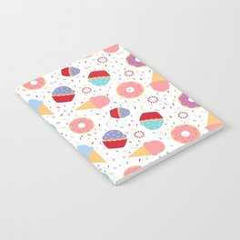 Donuts party Notebook