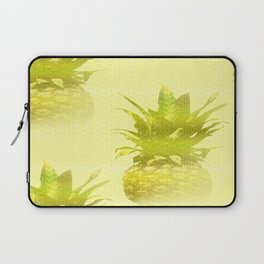 Pineapples Yellow Background #decor #society6 Laptop Sleeve