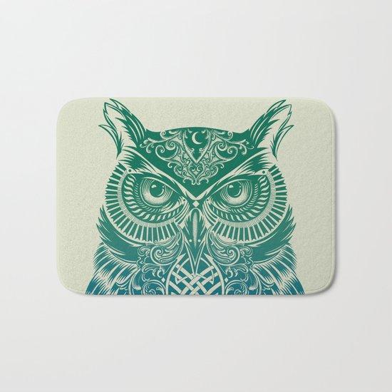 Warrior Owl Bath Mat