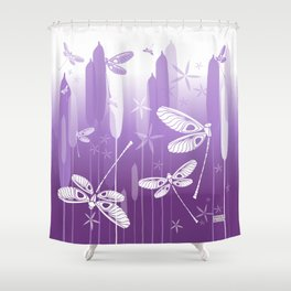 CN DRAGONFLY 1019 Shower Curtain