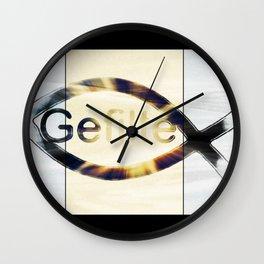 Gefilte Fish Wall Clock