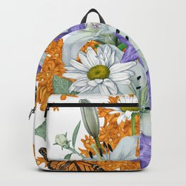 Butterfly Weed and Monarchs Backpack