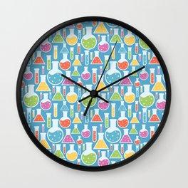 Science Laboratory Wall Clock