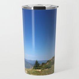View on the summits Travel Mug