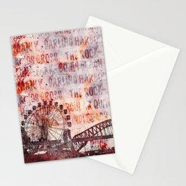 Sydney Luna Park Mixed Media Art Stationery Cards