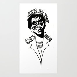 It's In the Eyes Chico Art Print