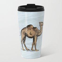 Camel - salt water Metal Travel Mug