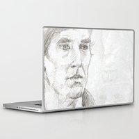 sherlock Laptop & iPad Skins featuring Sherlock by Amanda Powzukiewicz