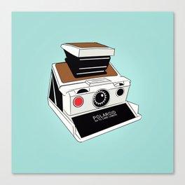 Polaroid Camera Canvas Print