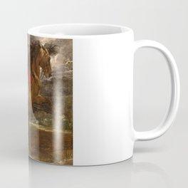 "Sir Anthony van Dyck ""A rearing stallion"" Coffee Mug"