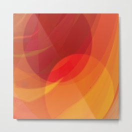 The Two Suns  Metal Print