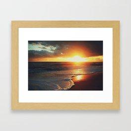 Outer Banks Sunrise Framed Art Print