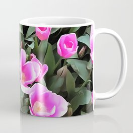 Delicate Pink Tulips Of Istanbul Coffee Mug
