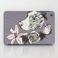 pitbull iPad Cases featuring Majestic Pitbull by Carrillo Art Studio