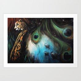 Gaia's Garden 2 Art Print