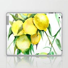 Lemon Tree. lemons kitchen design decor Laptop & iPad Skin