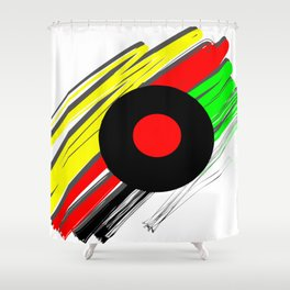 Music Grenada Shower Curtain
