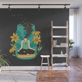 Meditation in a Jar Wall Mural