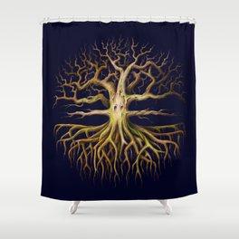 Eldritch Tree Shower Curtain