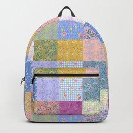 Spring Palette Patchwork Backpack